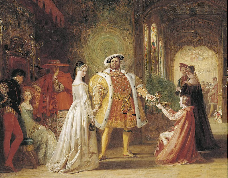 Daniel Maclise - Henry VIII's first interview with Anne Boleyn
