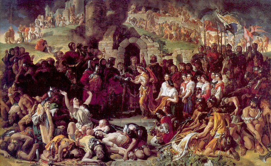 Daniel Maclise - Marriage of Storngbow and Aoife