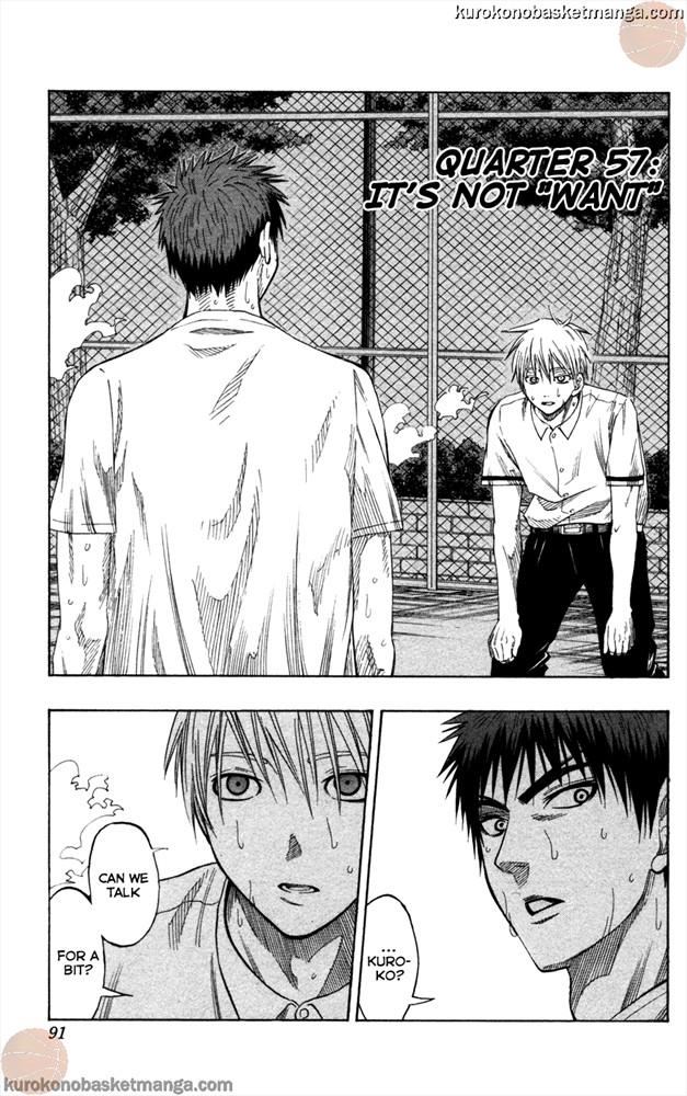Kuroko no Basket Manga Chapter 57 - Image 600/3