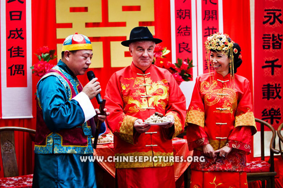 Wedding Between Chinese and Westerner 3