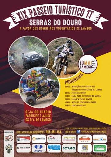 Programa - XIX Passeio Turístico TT  - Serras do Douro - Lamego