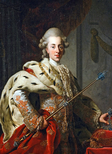 Alexander Roslin - King Christian VII of Denmark (1772)