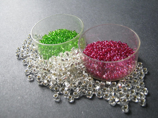 Christmas Punch Bead Color Idea