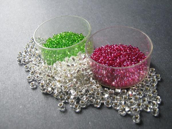 Christmas Punch Bead Color Idea