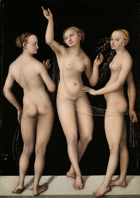 Lucas Cranach the Elder - The Three Graces - Google Art Project
