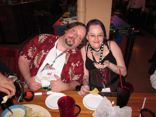 Michael & Rachel Bailey at DragonCon 2011