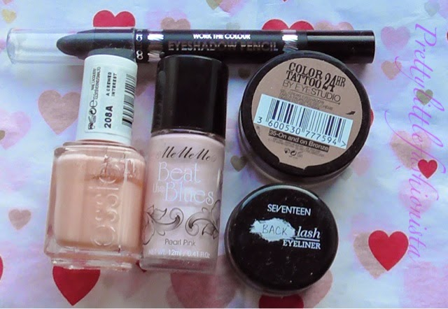 Maybelline, Seventeen, Collection, Me Me Me and Essie
