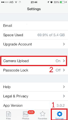 เทคนิควิธีการ Backup ภาพใน iPhone,iPad และ iPod แบบอัตโนมัติ