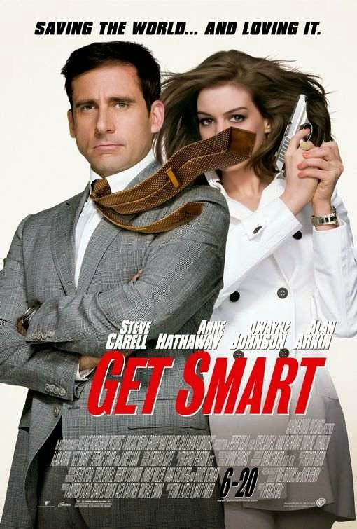 Poster Of Get Smart (2008) Full Movie Hindi Dubbed Free Download Watch Online At Alldownloads4u.Com