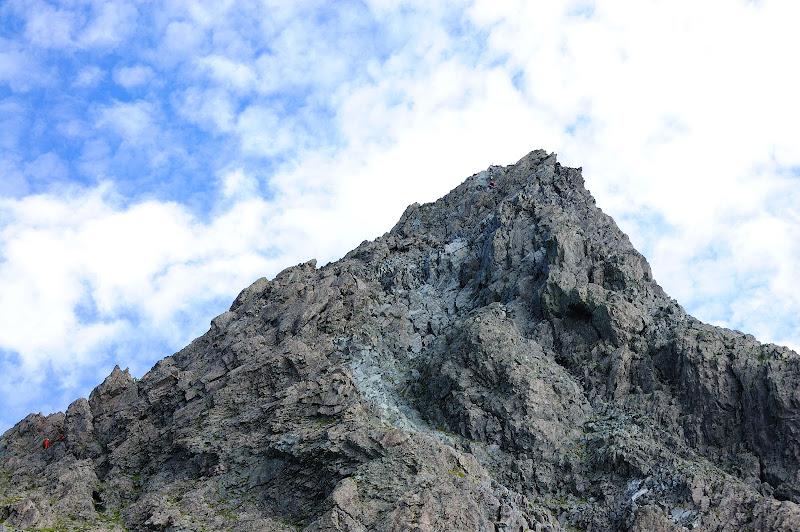 槍ヶ岳の写真、槍ヶ岳山荘から