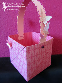 easter basket stampin up papillon potpourri