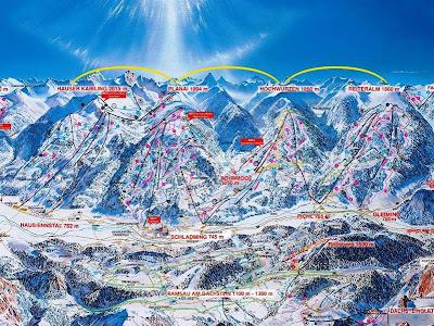 """Mapa de """"Schladminger 4-Berge-Schaukel"""""""