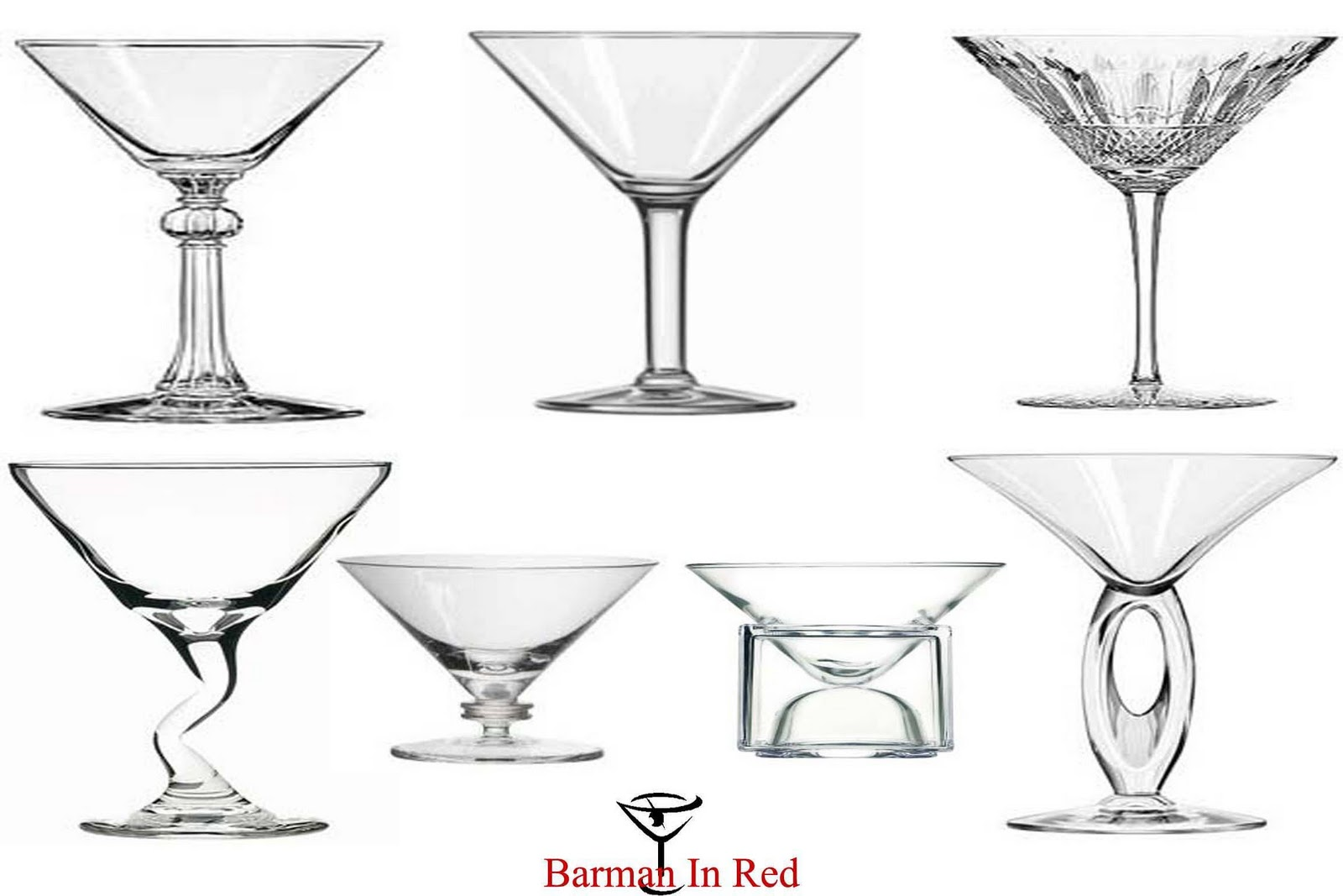 Copas de c ctel de las clasicas a las m s modernas for Vasos de coctel