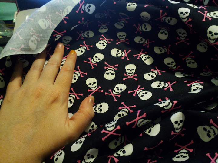 Girly Skull and Crossbones
