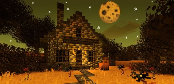 Halloween - текстуры для minecraft 1.8.1 1.9