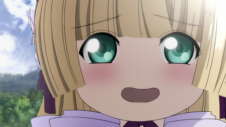 Gosick Victorique adorable eyes