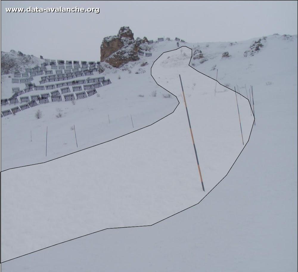 Avalanche Vanoise, secteur Grande Motte, Tignes - Tovière - Photo 1