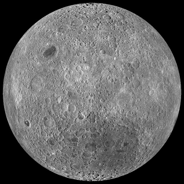 The Far Side of the Moon as never seen before!