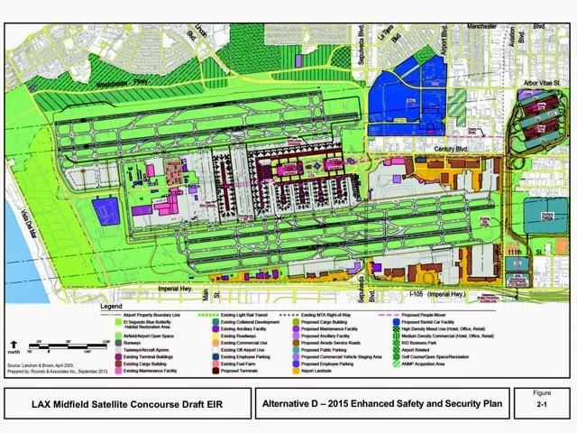 About airport planning lax midfield satellite concourse Airport planning and design course