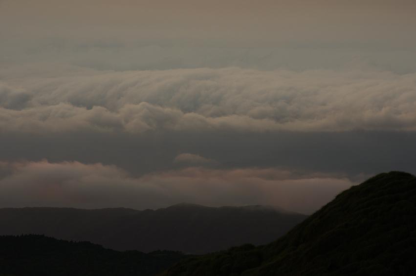 七星山的大景小日出