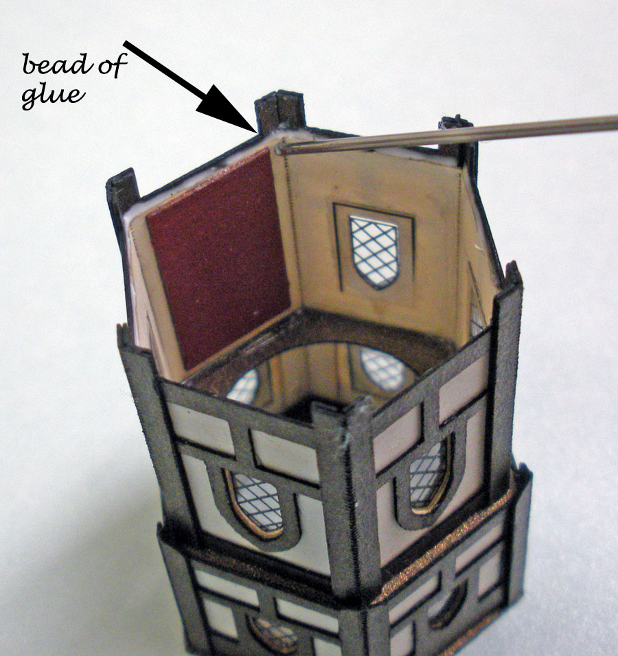 Glitter Houses Dovecote Assembly Instructions