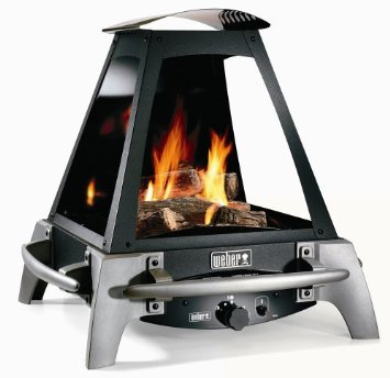Weber 27000 Flame Outdoor Liquid Propane Gas Fireplace Portable Gas Grill 2013