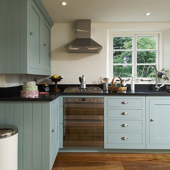 Kitchen Color Combinations: Modern Country Style: Modern Country Kitchen Colour Scheme