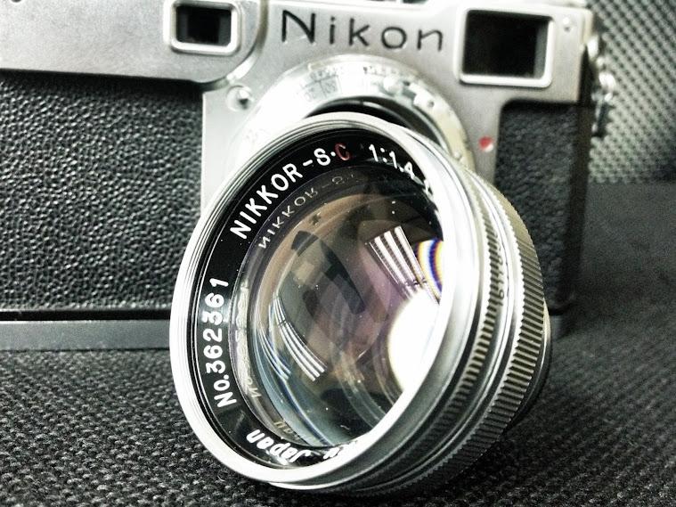 NIKKOR-S.C 5cm f1.4 銀鏡出陣