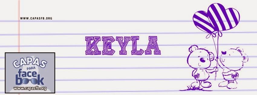Capas para Facebook Keyla