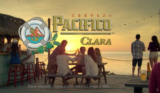 Spin The Bottle — Pacifico Beer Ad