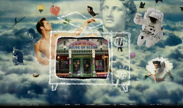 *讓我們來一窺金凱瑞的奇妙世界吧!|Jim Carrey - Official Web Site 6
