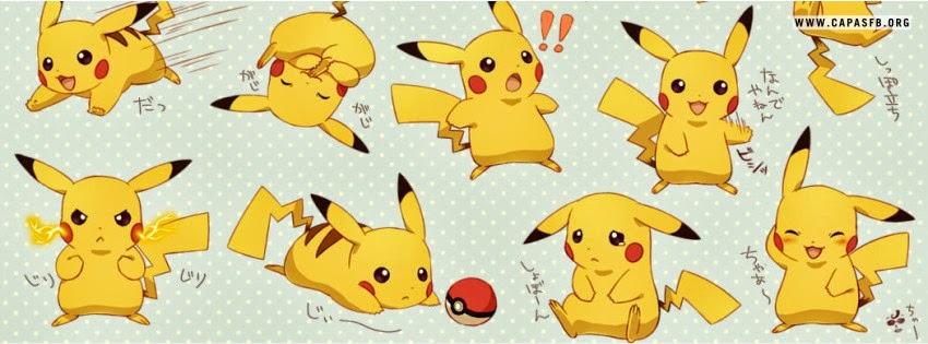 Capas para Facebook Pikachu