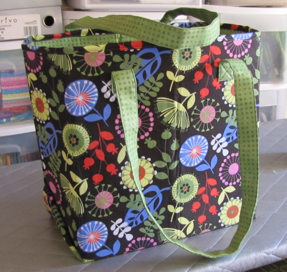 Atkinson Designs Stand N Stow : Alamosa quilter new tote bag pattern amended review