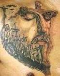 tatuaże jezus