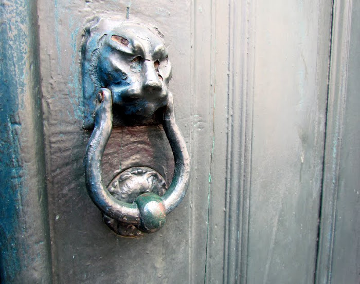 the lion door-post