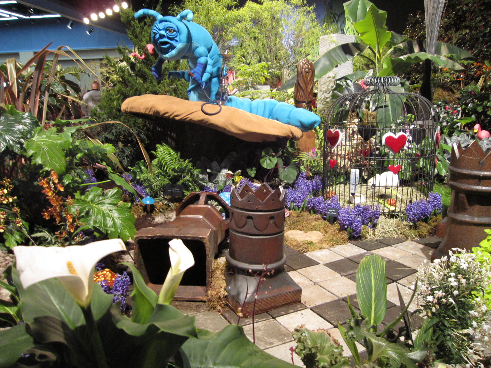mulchmaid 2011 nwf g show the display gardens. Black Bedroom Furniture Sets. Home Design Ideas