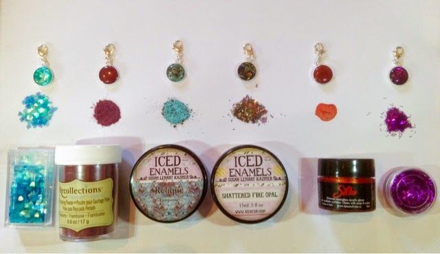Willow Run Crafts Blog Coloring Ice Resin - Coloring resin with alcohol ink