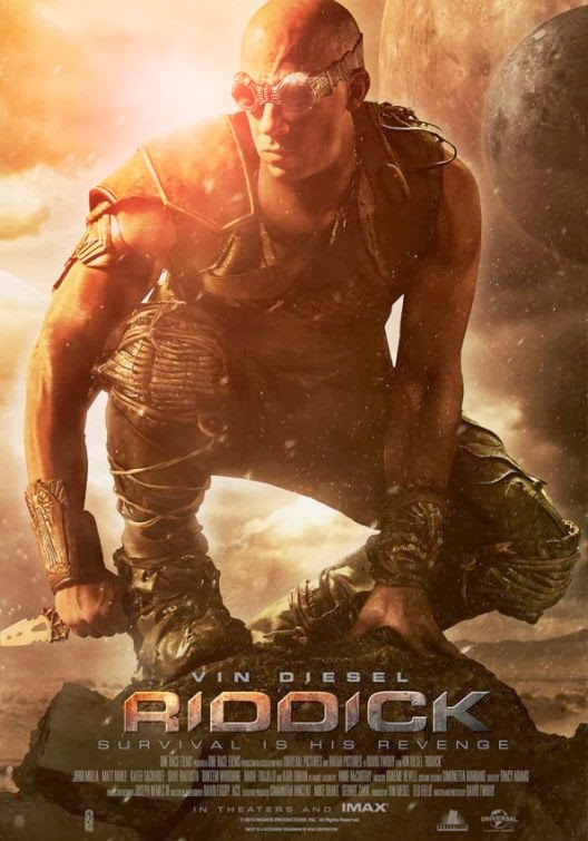 Poster Of Riddick (2013) Full Movie Hindi Dubbed Free Download Watch Online At Alldownloads4u.Com