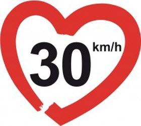Objetivo: ciudades a 30 km/h máximo
