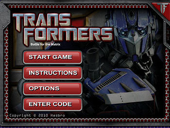 Go on a shot fling and destroy all the decepticons in this