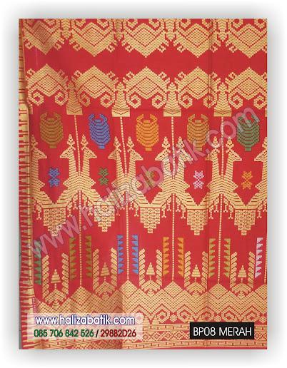 Harga Kain Batik, Motif Batik Pekalongan, Model Batik 2015, BP08 MERAH