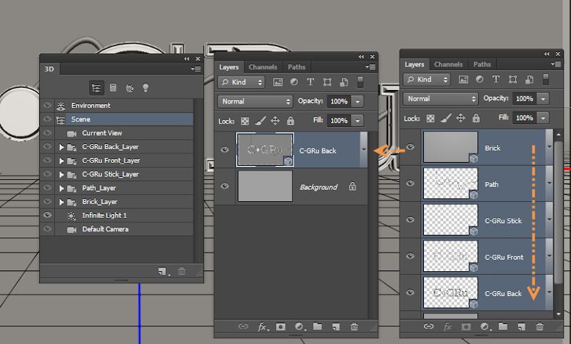 Photoshop - เทคนิคการสร้างตัวอักษร 3D Glowing แบบเนียนๆ ด้วย Photoshop 3dglow26