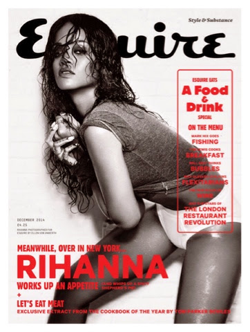 Rihanna for Esquire UK December 2014 Issue