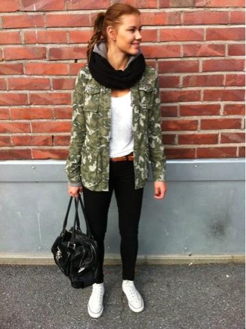 Armeijakuosinen takki