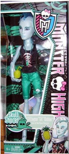 Monster High - Skull Shores: Gil Webber