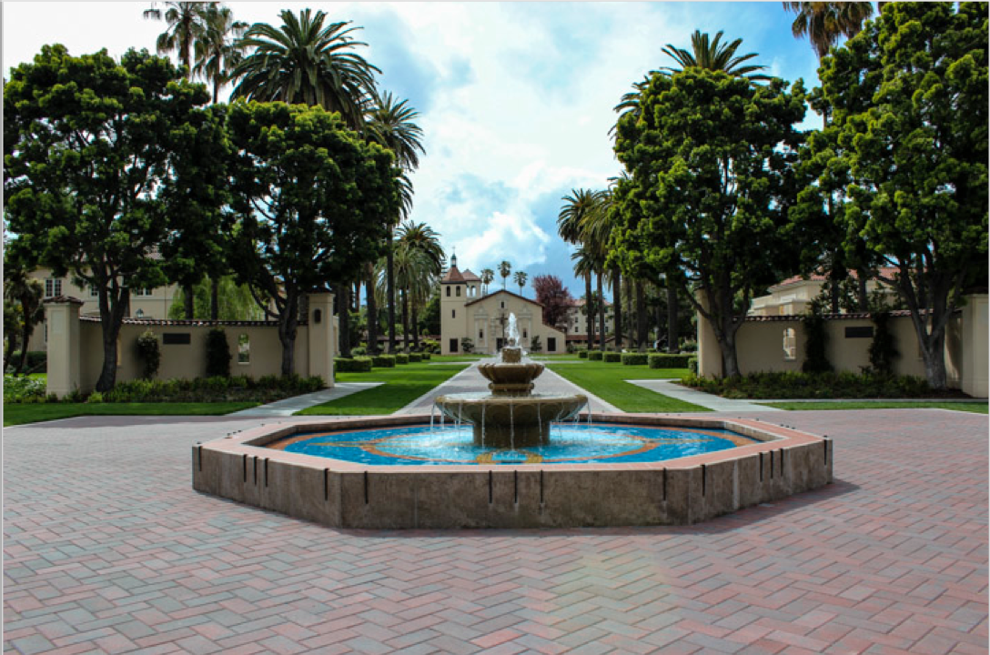 Santa Clara University Campus Map of Santa Clara University