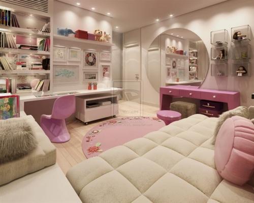Habitacion de Vainilla Quarto-chicas-adolescentes-dormitorio