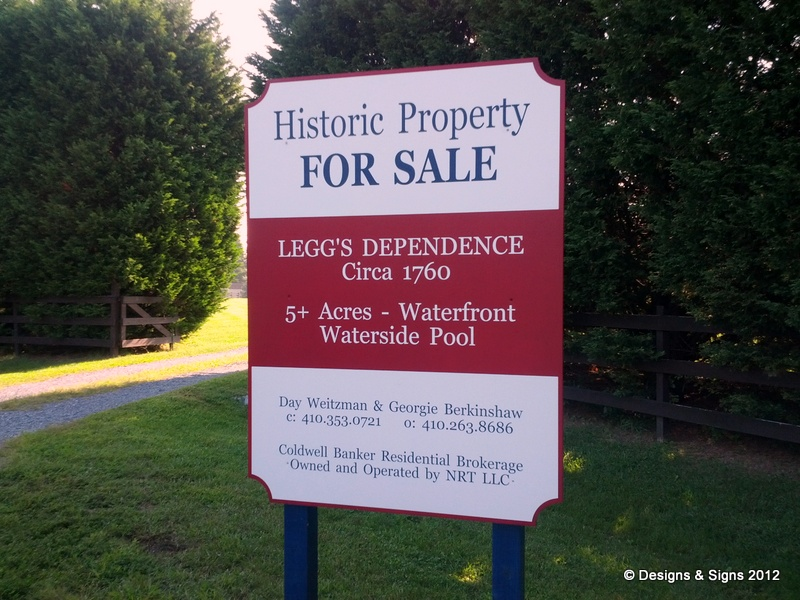 Real Estate Signs – Weitzman