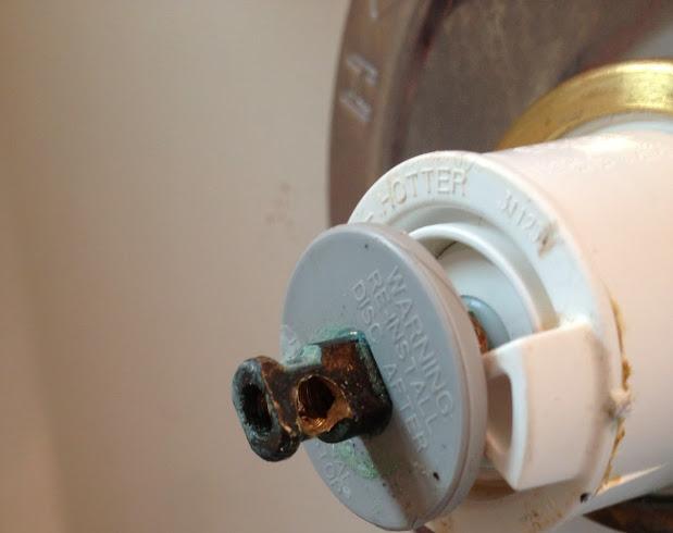 Delta Monitor shower faucet low water pressure - Garrett ...
