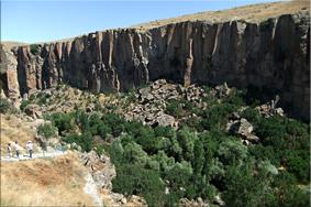 Valle de Ihlara (Ihlara Vadisi) - Capadocia